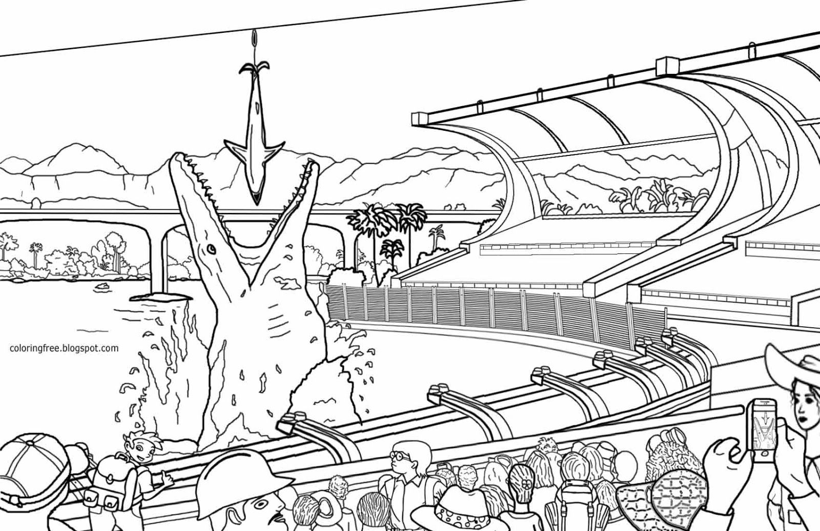 9 Pics Of LEGO Printable Coloring Pages Jurassic World ...