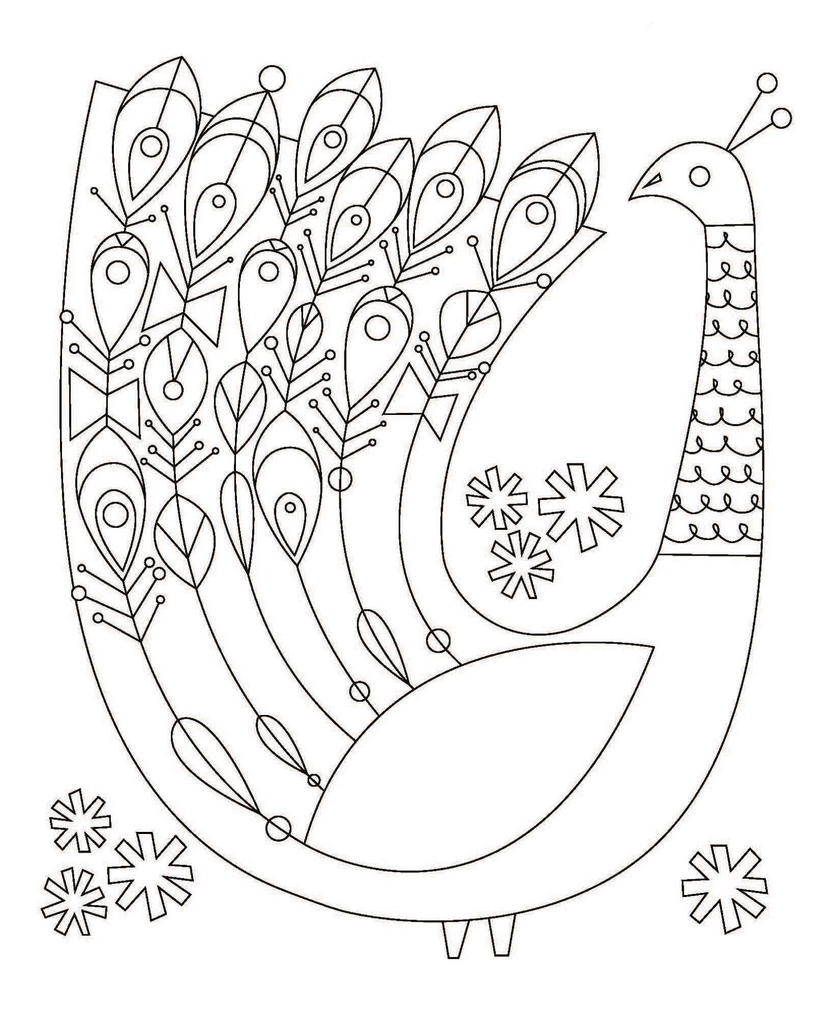 Mexican Folk Art Coloring Pages - Coloring Home