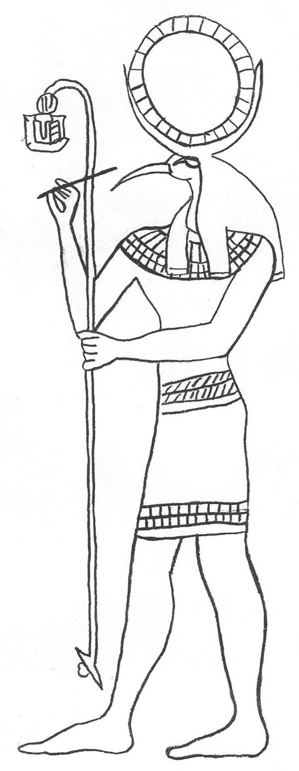 egyptian god coloring pages az coloring pages