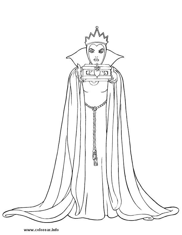 Free Disney Villains Coloring Pages - Coloring Home