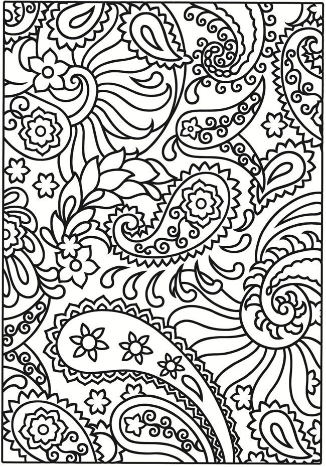 Coloring Pages To Print Designs : Swirl coloring pages home