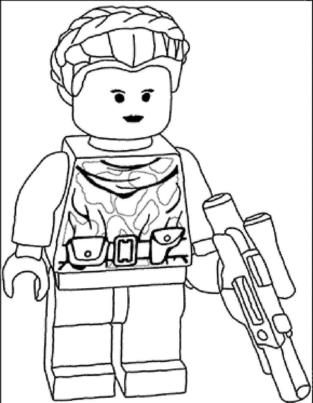 Lego City Coloring Pages Free - Coloring Home