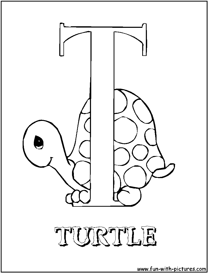 6 Pics Of Alphabet Coloring Pages T