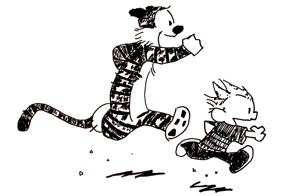 Calvin and Hobbes Clipart - Cliparts and Others Art Inspiration
