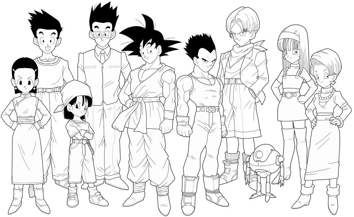 Dragon Ball Coloring Pages Deviantart - Coloring Home