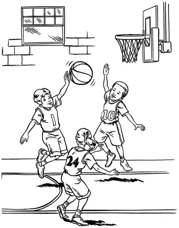 Sketches of nba players coloring pages for Nba players coloring pages