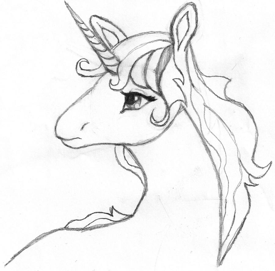 Printable 18 Unicorn Head Coloring Pages 18   Mystical Creature ...