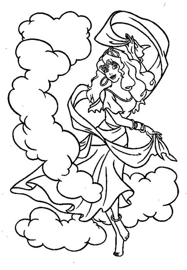 Disney Coloring Pages Hunchback Notre Dame : Hunchback of notre dame coloring pages home