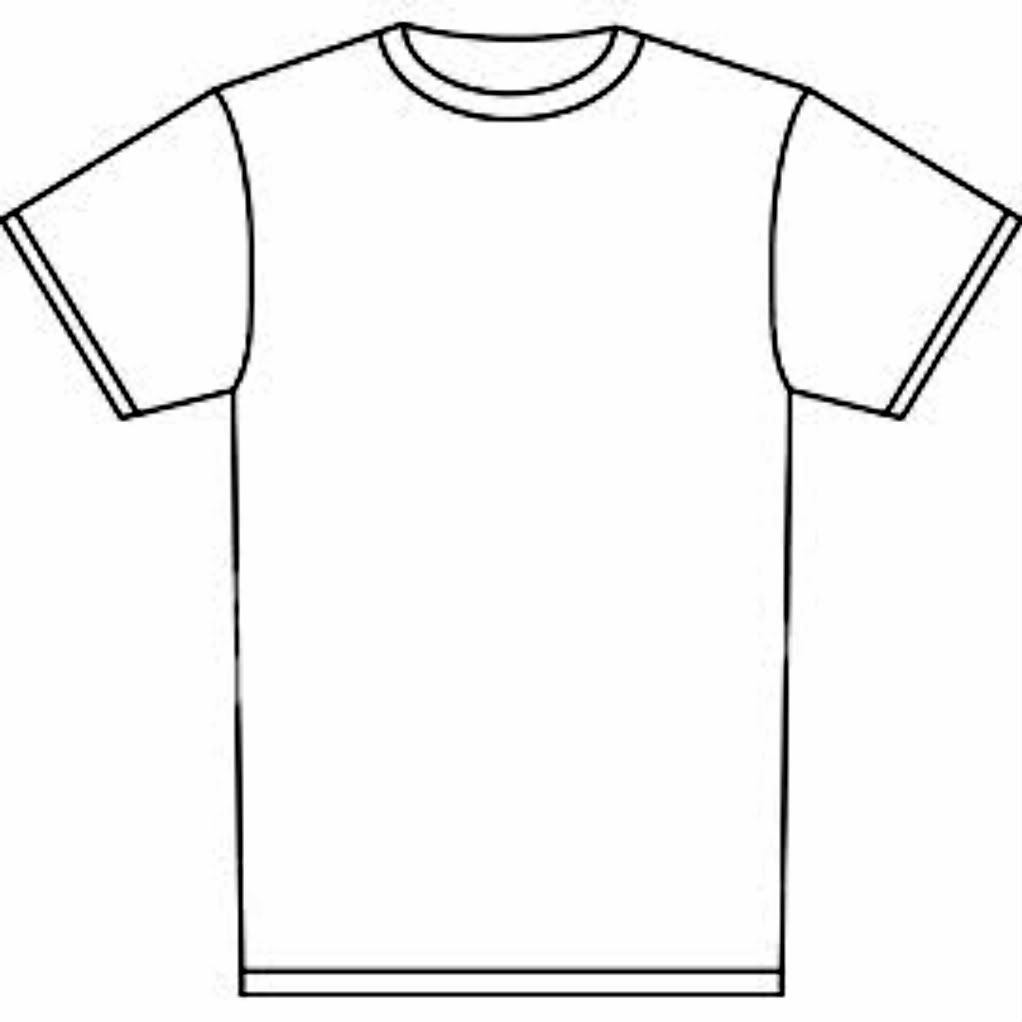 T Shirt Coloring Page - Coloring Home