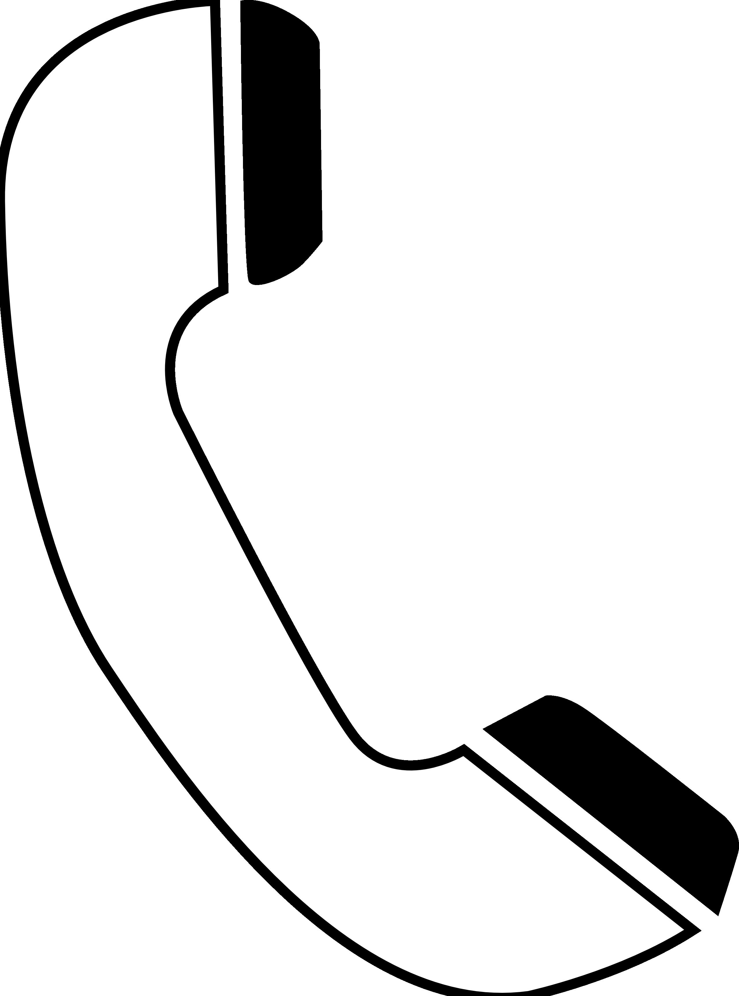 Картинки черно белый телефон