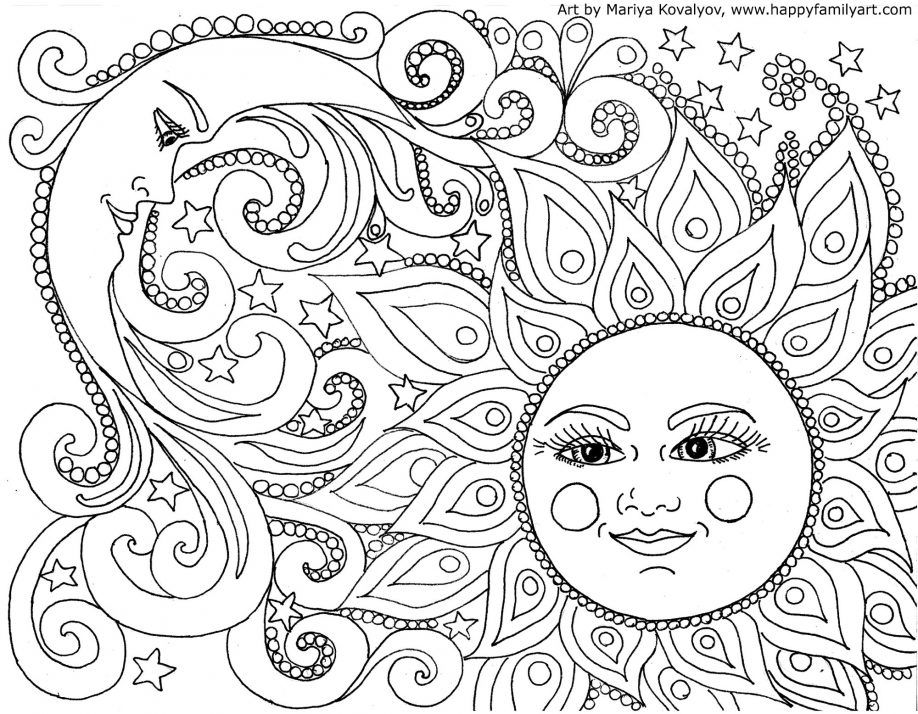 Mosaic Coloring Pages Free  Coloring Home