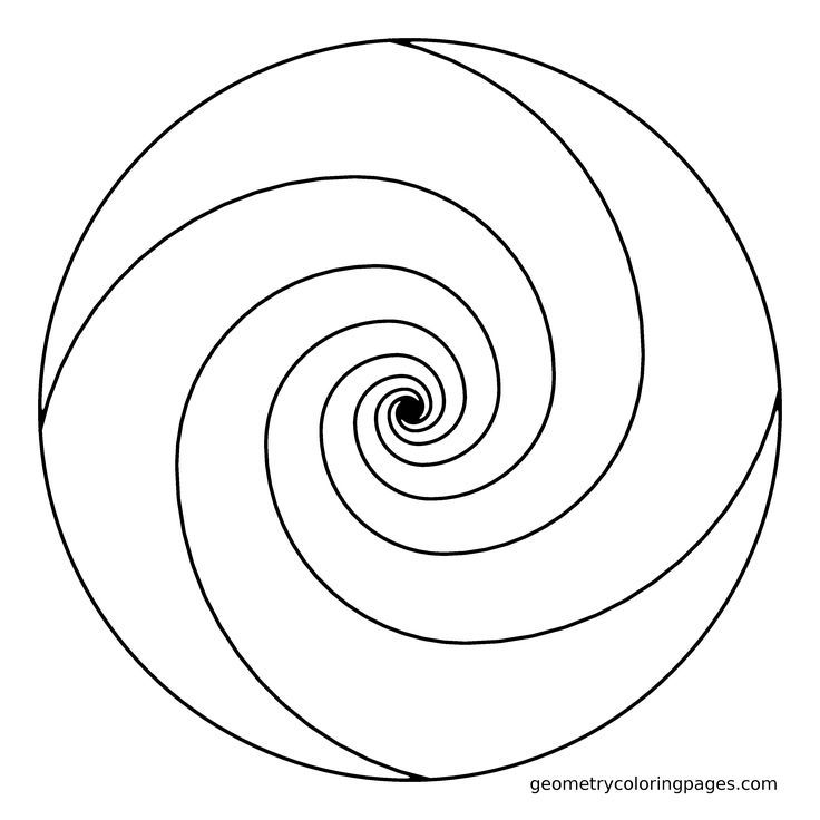 spiral coloring pages to print | Swirl Coloring Pages - Coloring Home