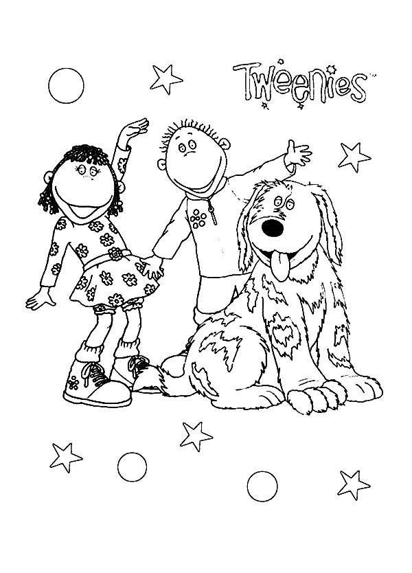 CBeebies Tweenies Coloring Pages