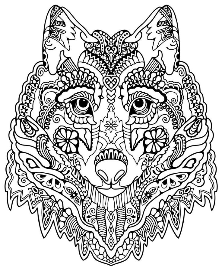 - Intricate Coloring Page - Coloring Home