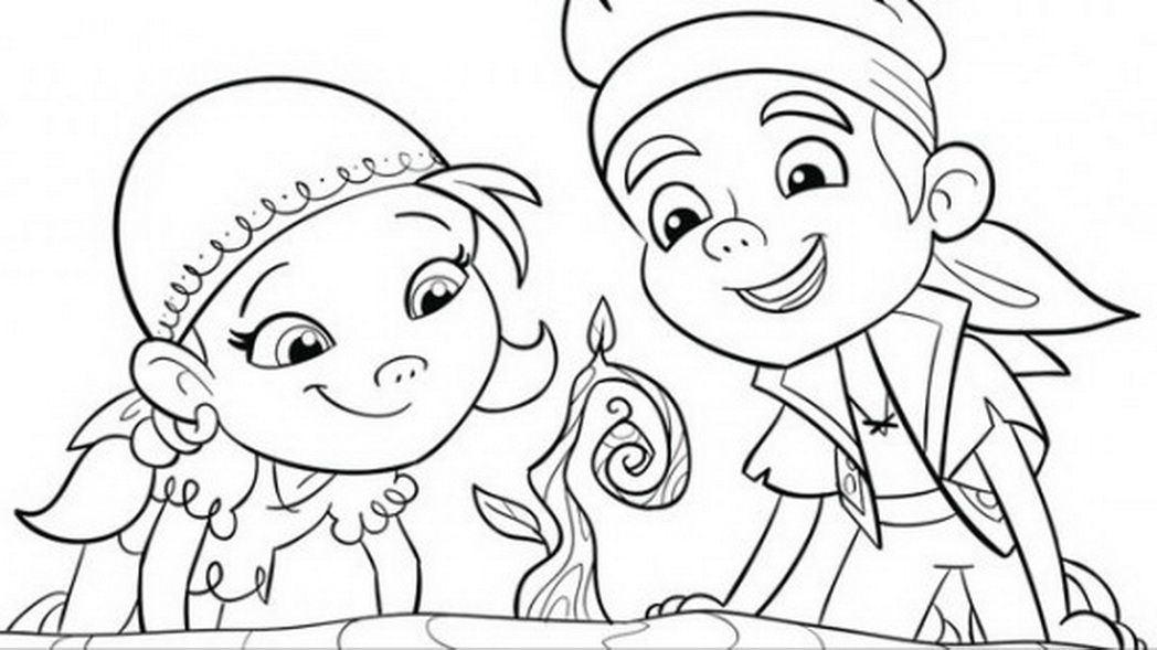 Coloring Pages Disney Jr AZ Coloring