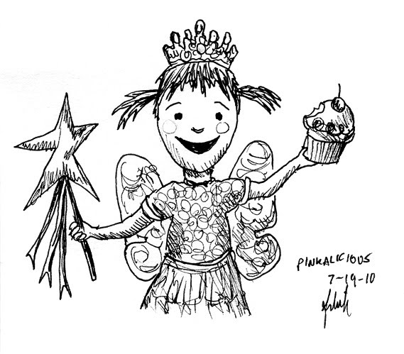 pinkalicious coloring pages to print - photo#17
