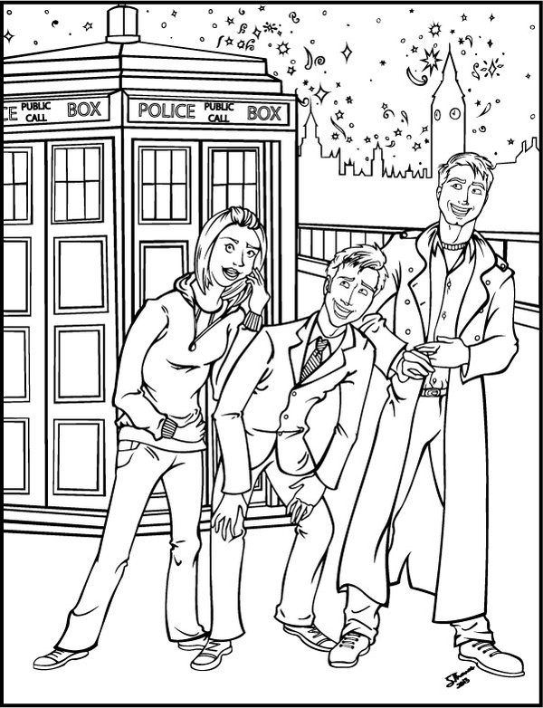 Doctor Who Coloring Pages Az Coloring Pages Coloring Pages Doctor Who