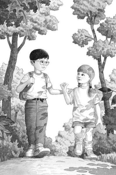 Jack And Annie Coloring Page