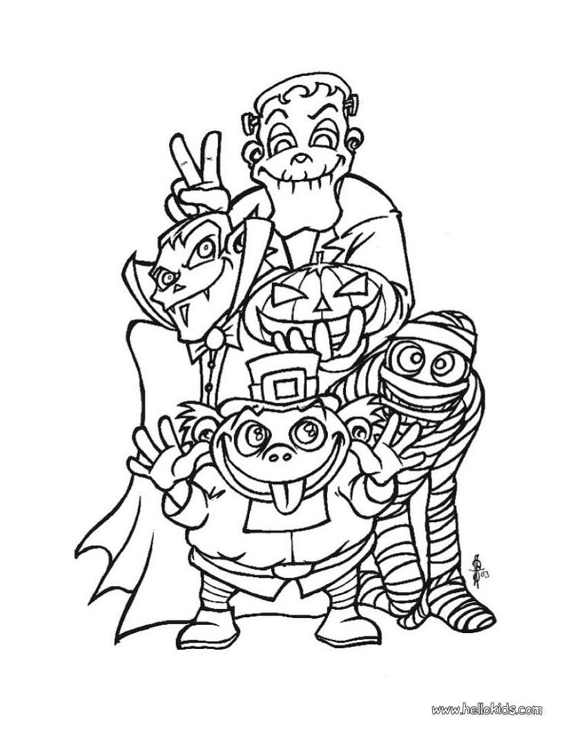 Creepy Doll Coloring Pages - Coloring Home