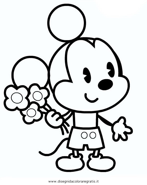 Disney Cuties Coloring Page Coloring Home