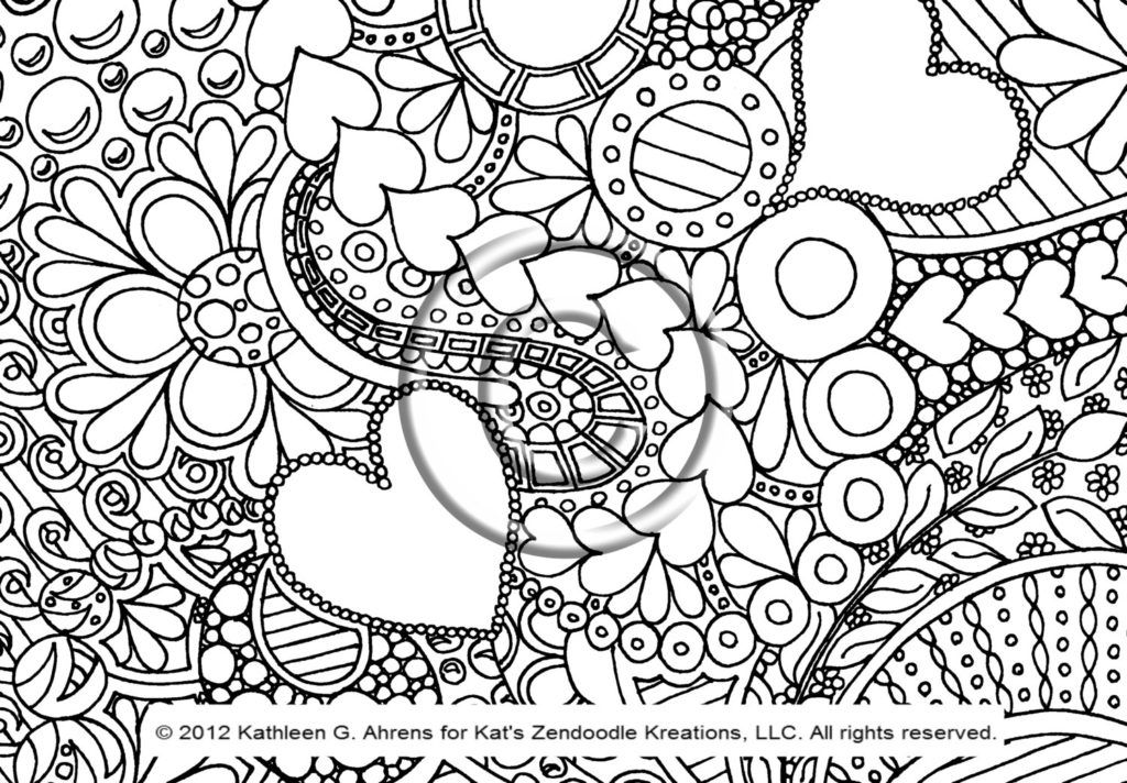 Coloring Pages To Print Designs : Coloring pages of cool designs az