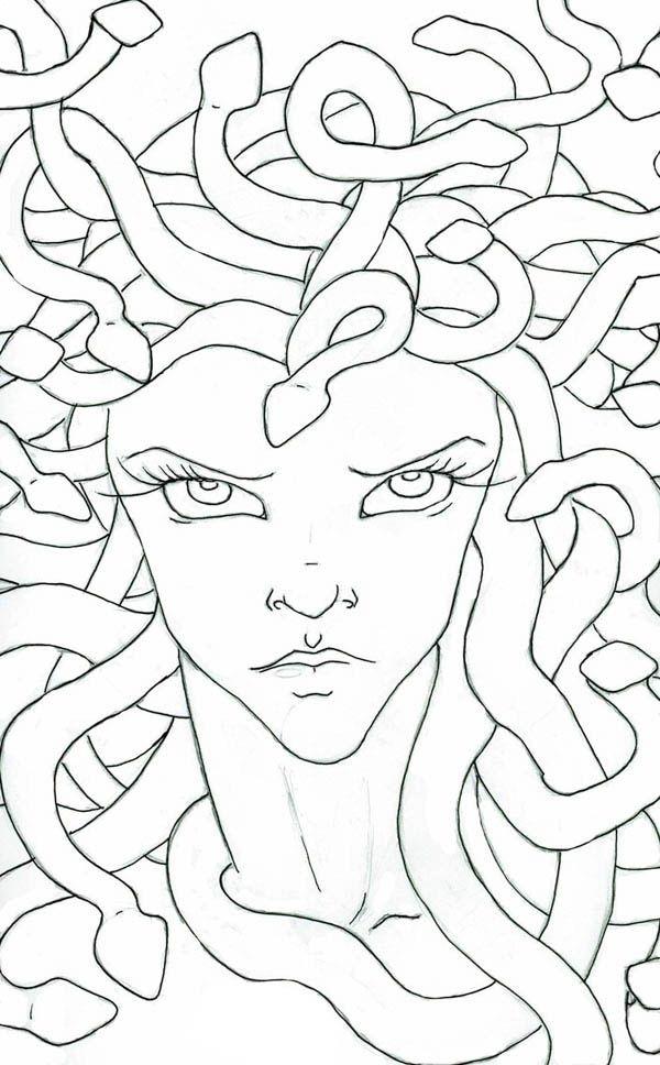 Medusa NetArt Coloring Home