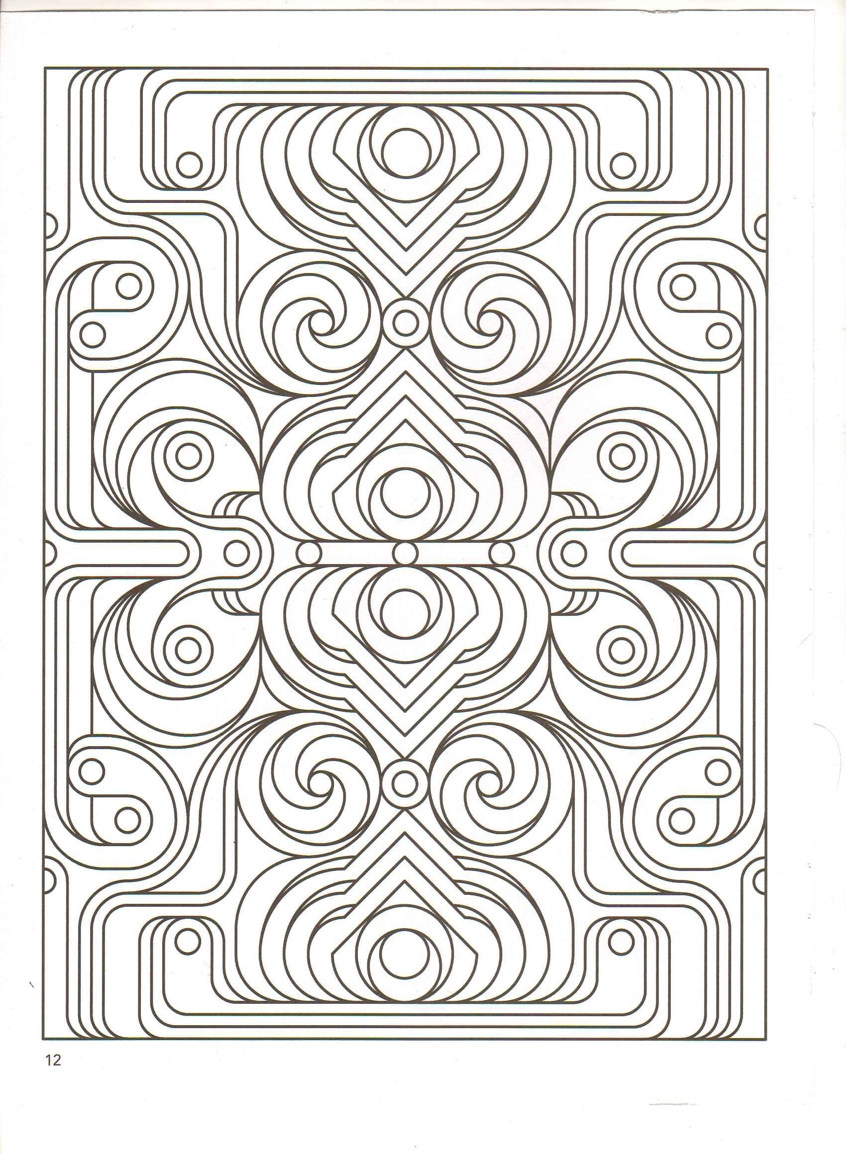 Fractals Coloring Pages Coloring