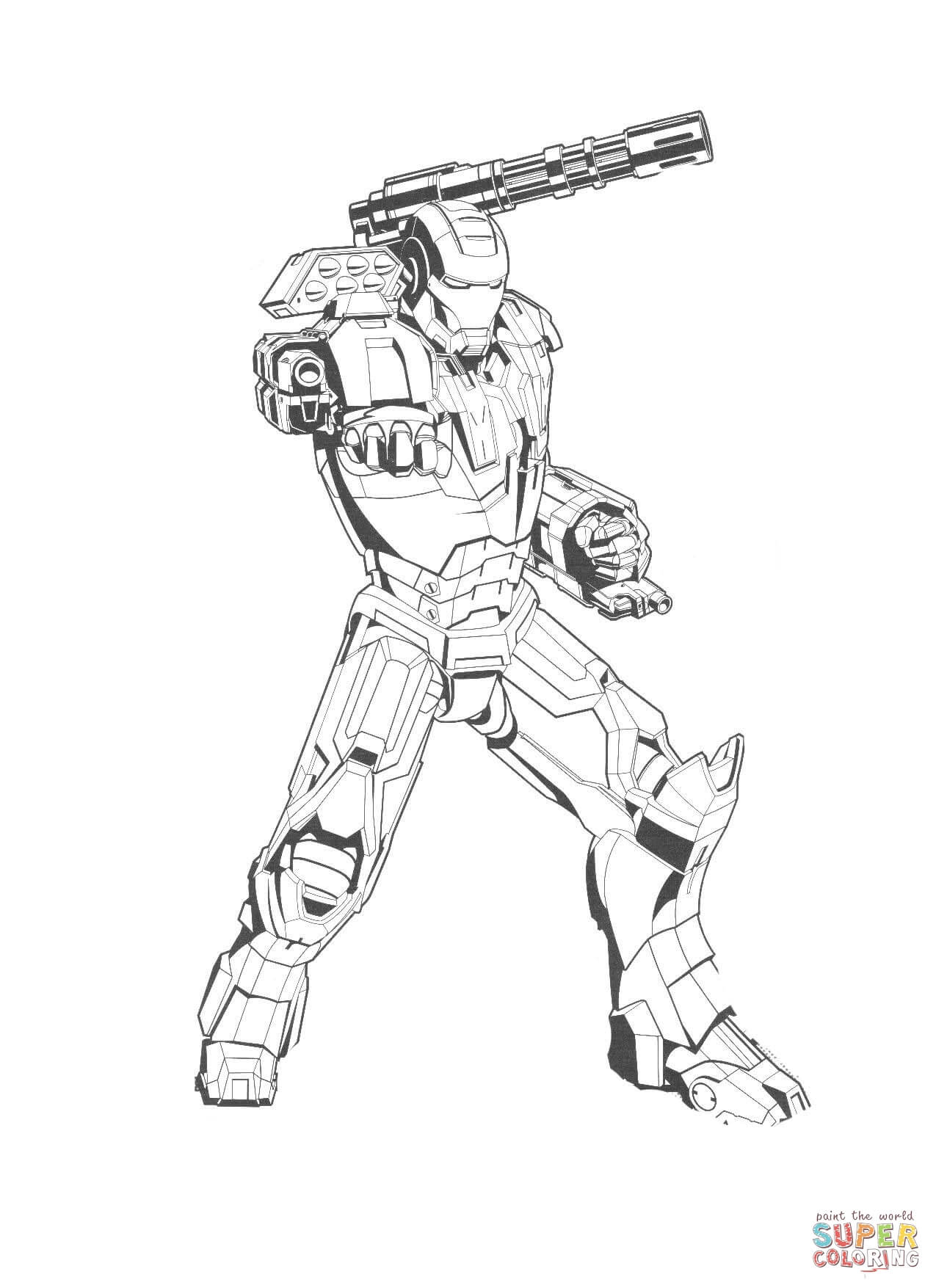 Iron Man Coloring Pages | Free Coloring Pages - Coloring Home
