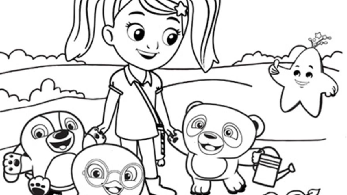 sprout character coloring pages - photo#4