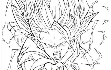 Goku Super Saiyan 10 - Coloring Pages For Kids And For ...