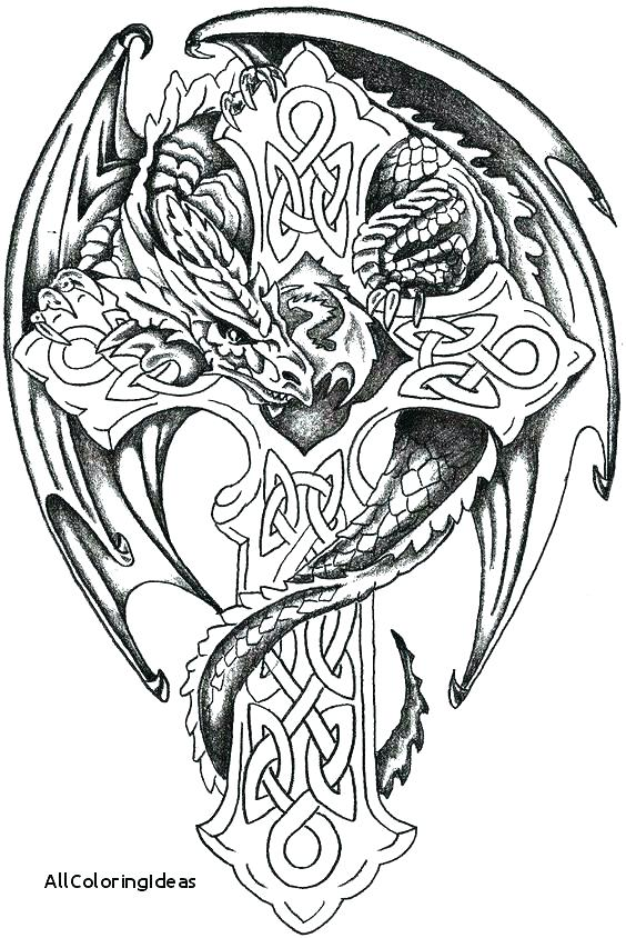 Skull Tattoo Coloring Pages - Coloring Home