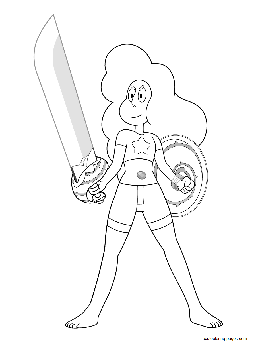 Stevonnie From Steven Universe Coloring Pages Printable for ...