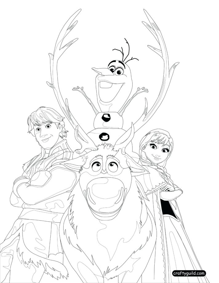 Frozen Fever Coloring Pages - Coloring Home