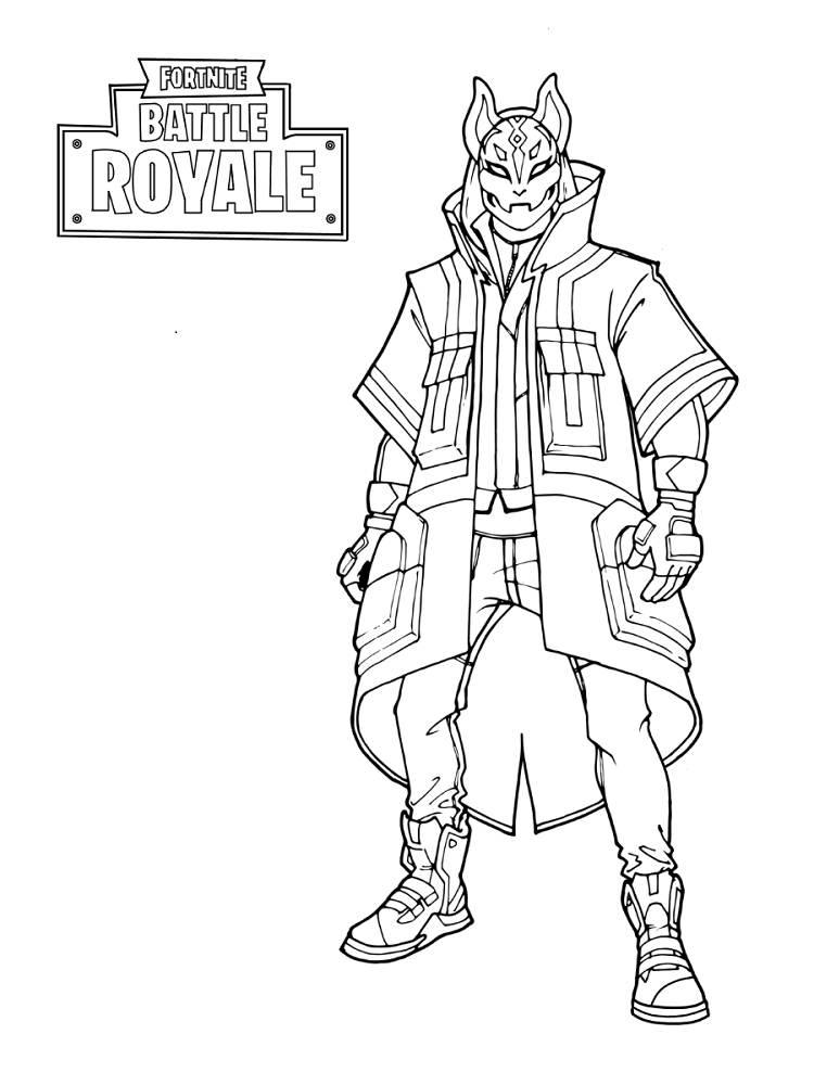 Free Printable Fortnite Coloring Sheets in 2019 | Coloring ...