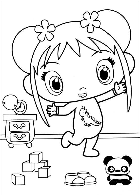 Kailan Coloring Pages - Coloring Home