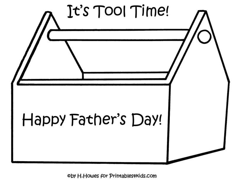 tool box coloring pages - photo#7
