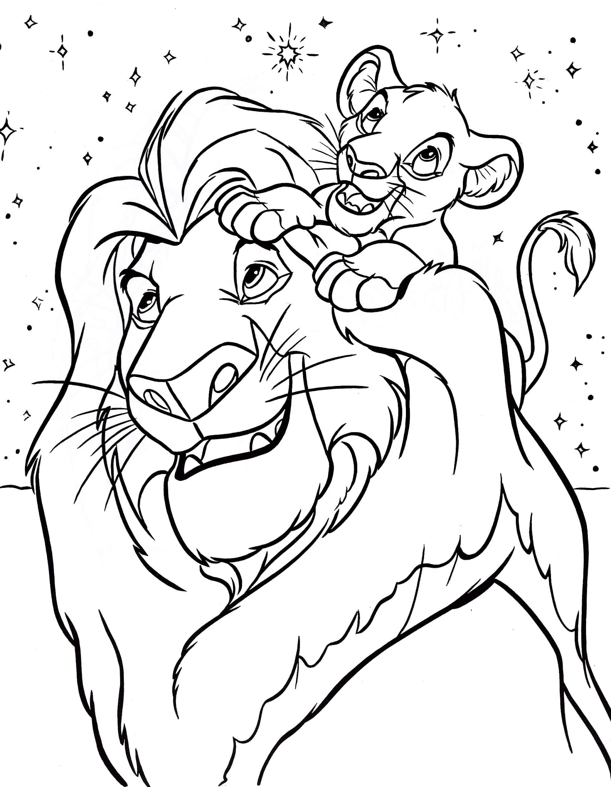 Coloring Pages Of Disney Carictors - Coloring Home | 2555x1984