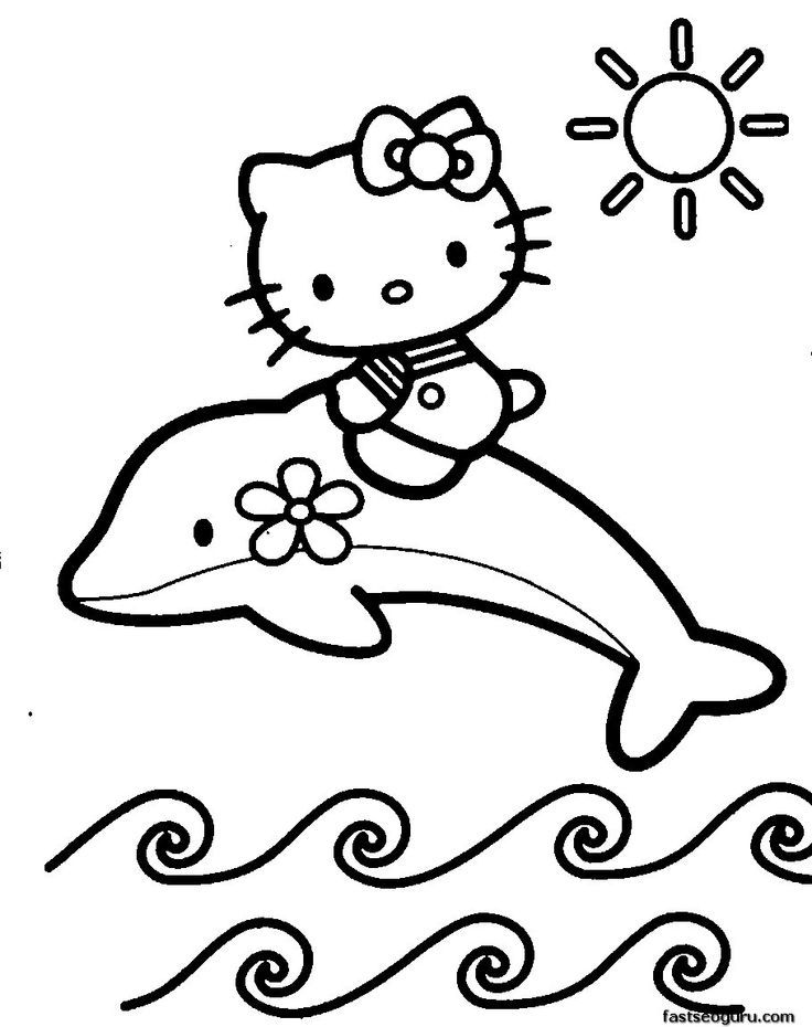 ballerina kitty coloring page coloring pages for all ages
