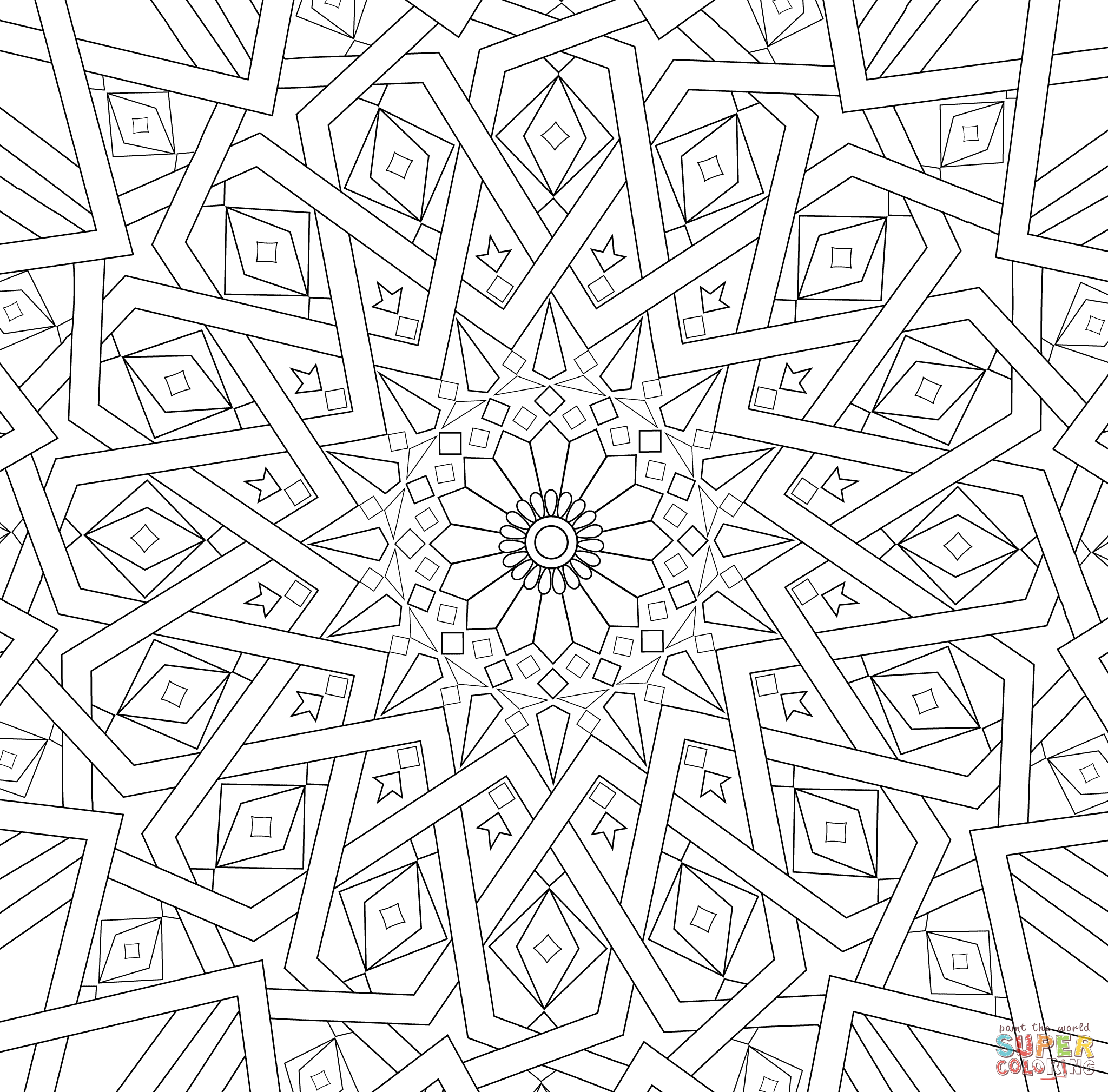 Coloring Pages Mosaic Color Pages mosaic patterns coloring pages az 9 pics of free coloring