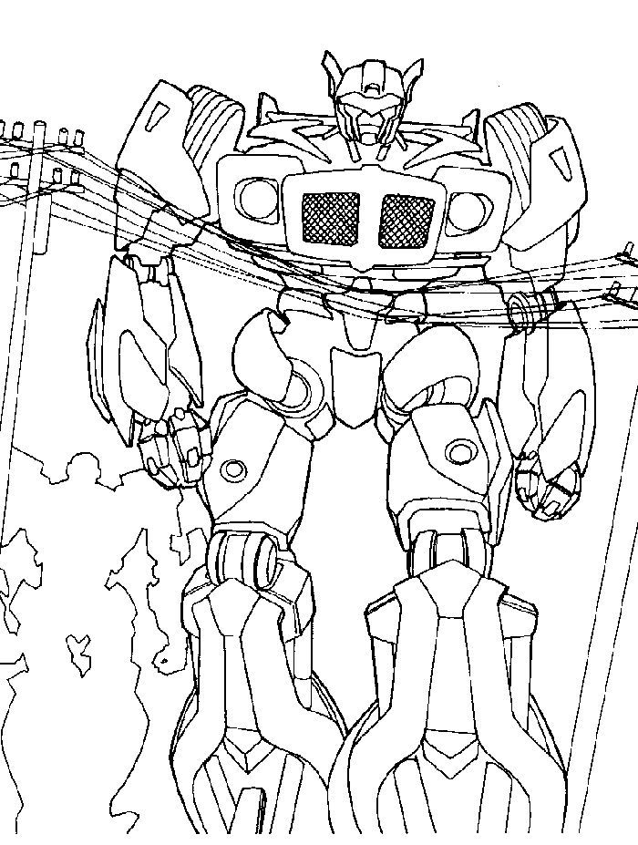 Transformers 3 Bumblebee Coloring Pages in 2020 | Transformers coloring  pages, Toy story coloring pages, Coloring pages