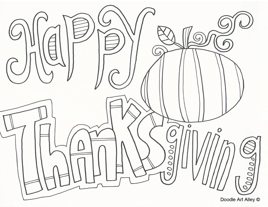 Happy Thanksgiving Coloring Pages Coloring Home