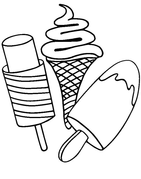 Popsicle Coloring Page Coloring Home Popsicle Coloring Page