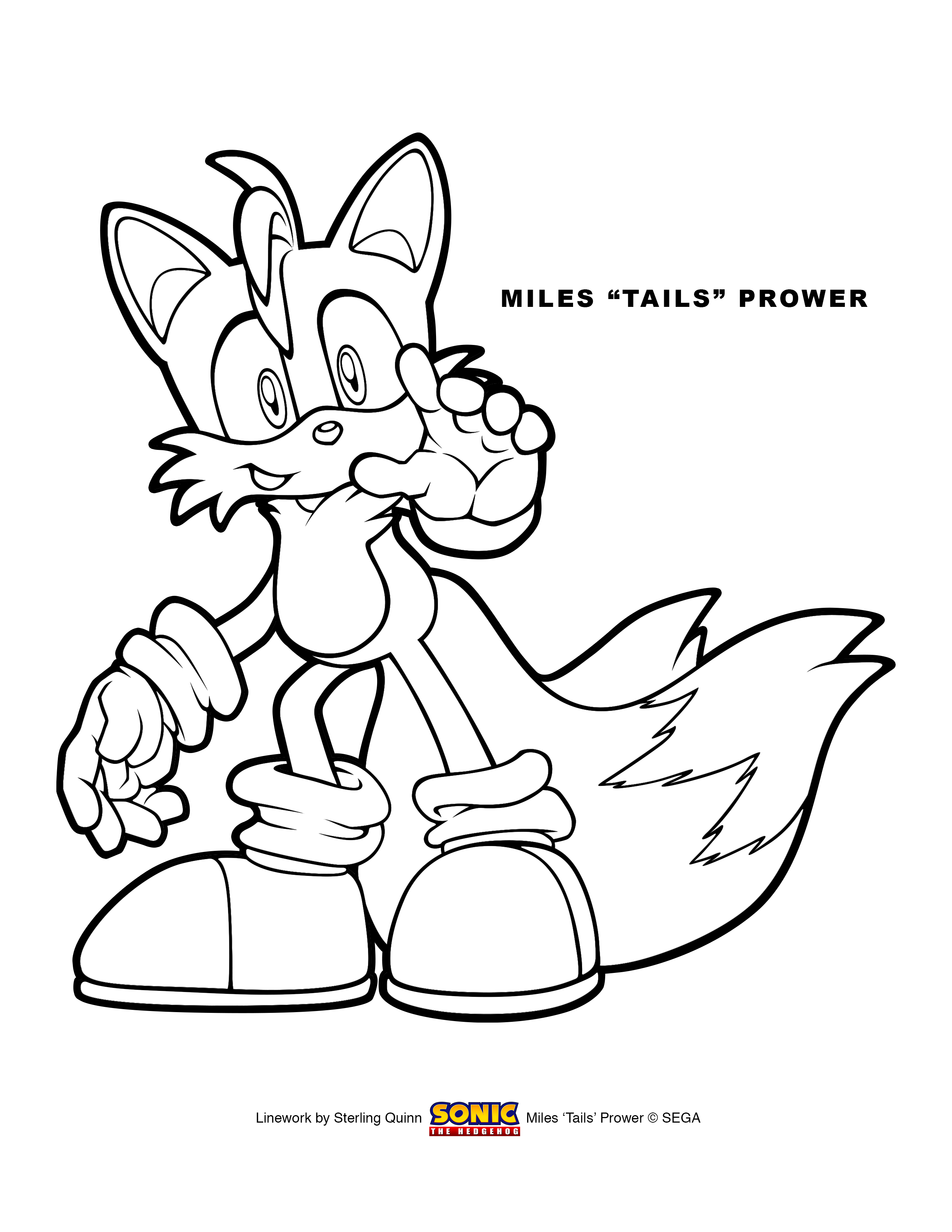 Coloring Pages Tails The Fox Coloring Pages tails coloring pages az 13 pics of the fox pages
