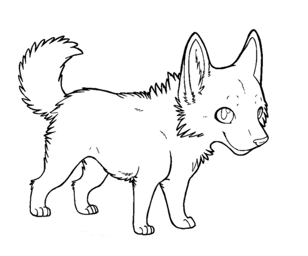 Colorear Para Niñas: Coloring Pages For Girls Puppies