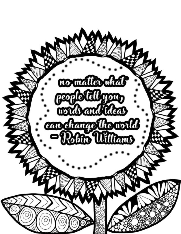 Inspirational Quotes Coloring Pages ...sstra.org