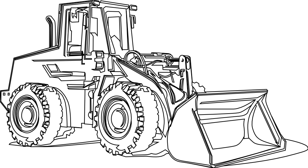 Coloring pages of farm equipment ~ Mighty Machines Coloring Pages - Coloring Home
