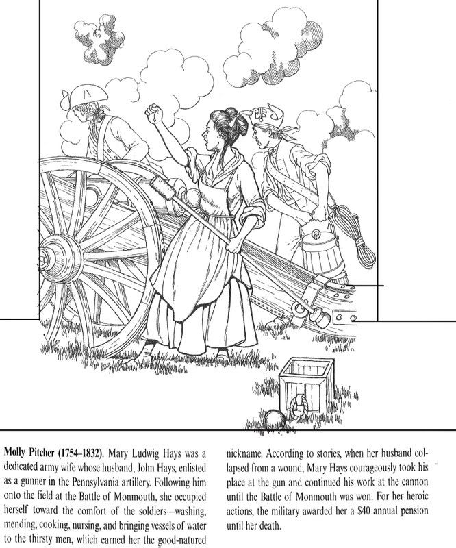 American Revolution Coloring Pages Pdf : American revolution coloring pages free home