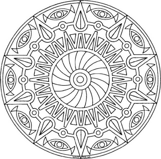 awesome coloring pages for teenagers cartoonrockscom - Cool Pictures To Color And Print