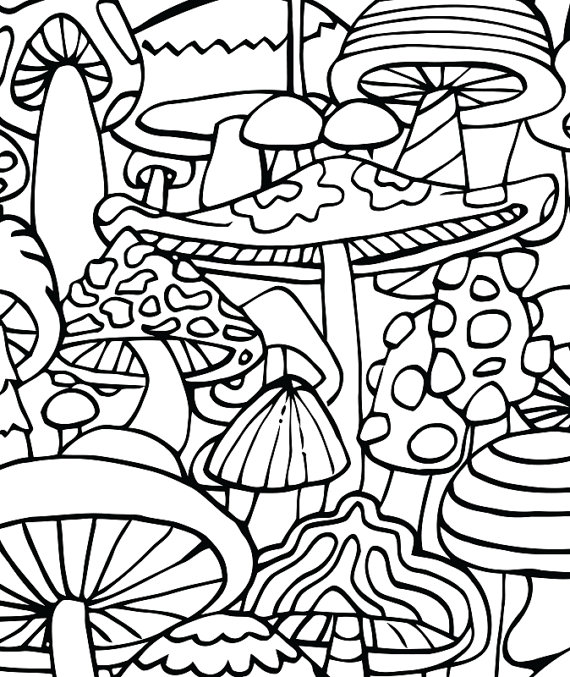 Simplicity image in printable stoner coloring pages