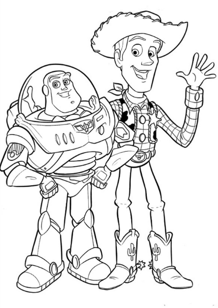 Toy Story 4 Coloring Pages - Free-Coloringpages.info - Coloring Home